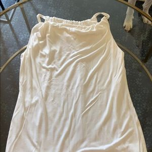 Cabi white tunic sleeveless top